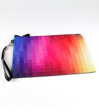 Funda Mediana Degradada Multicolor
