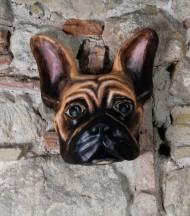 Mascara Bulldog Francés