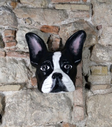 Mascara Bulldog Francés Negro