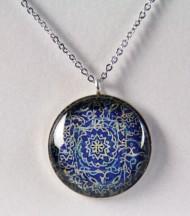 Colgante Mosaico Azul
