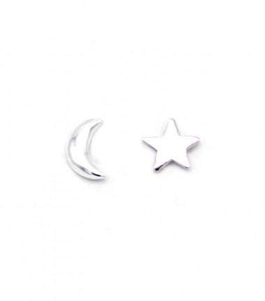 Pendientes Luna y Estrella