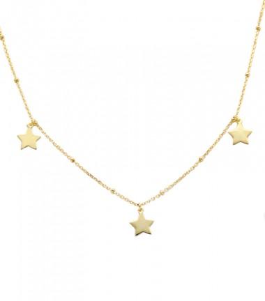 Collar con Estrella Oro
