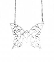 Collar Mariposa Origami