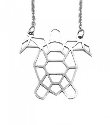 Collar Tortuga Origami