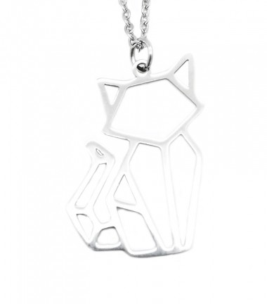 Collar Gato Origami