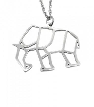 Collar Elefante Origami