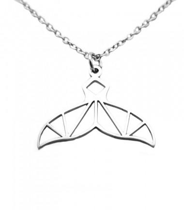 Collar Cola de Ballena Origami