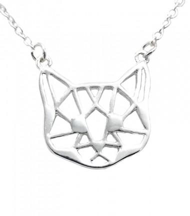 Collar Gata Origami
