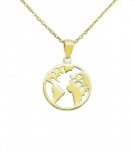 Collar World Oro