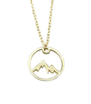 Collar Montañas Oro