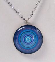 Colgante Mandala Azul