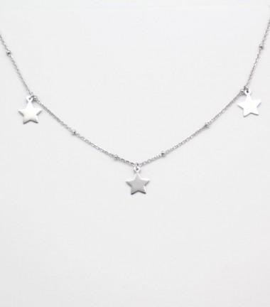 Collar con Estrella de Plata